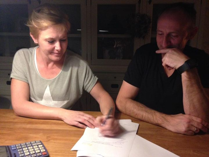 Hypotheekomzetting getekend door Edo en Liesbeth de Graaf. Bedankt voor het vert...